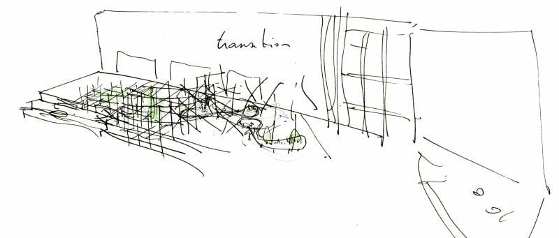 Boceto intervención Adrián Torres, IVAM