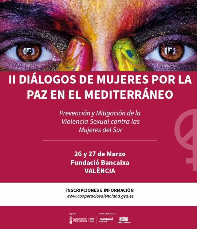València acoge el II Encuentro de Diálogos de Mujeres por la Paz en el Mediterráneo