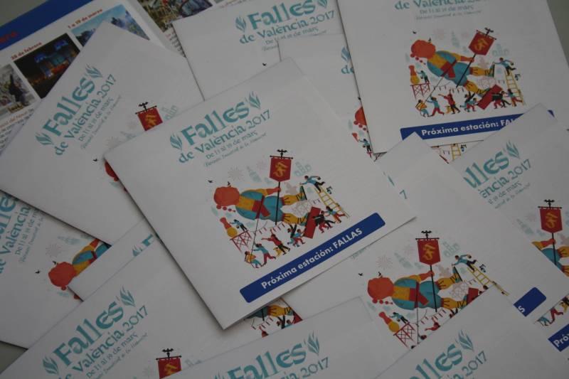 Turismo Valencia y Renfe, Fallas