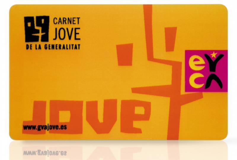 Imagen de archivo Carnet Joven València./ EPDA