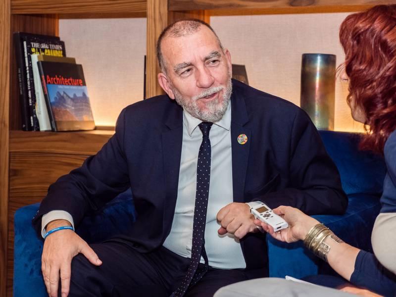 Joaquín Nieto director de la oficina de la Organización Internacional del Trabajo