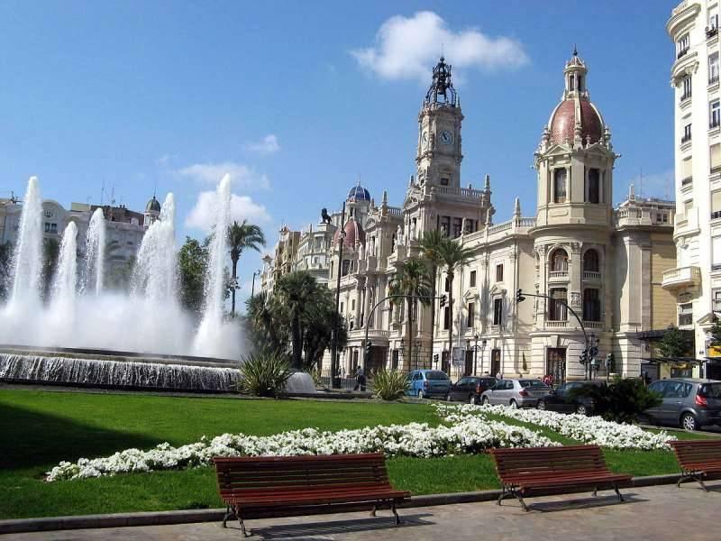 Plaza del Ayuntamiento de Val�ncia. EPDA