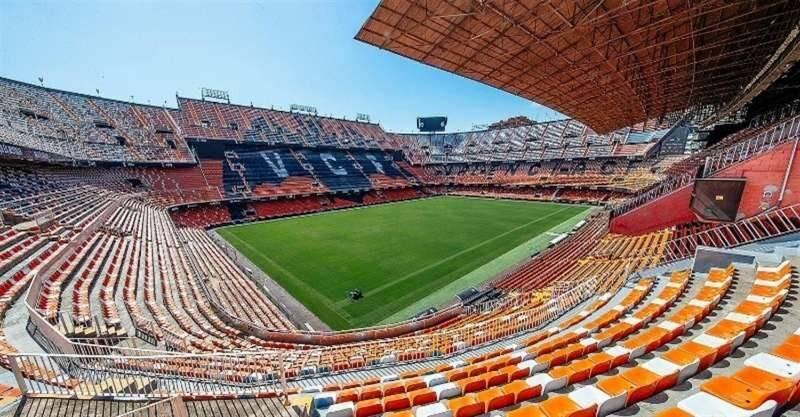 Imagen del Campo de Fútbol Mestalla./ EPDA