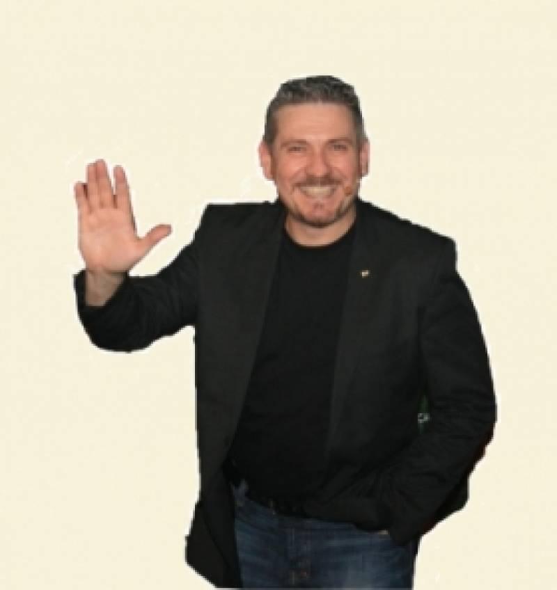 Claudio Sabetta, un comediante único : : Sala Girasol