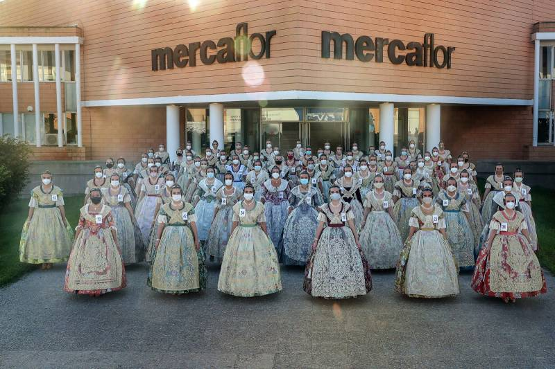 Candidatas a Fallera Mayor 2022. Armando Romero