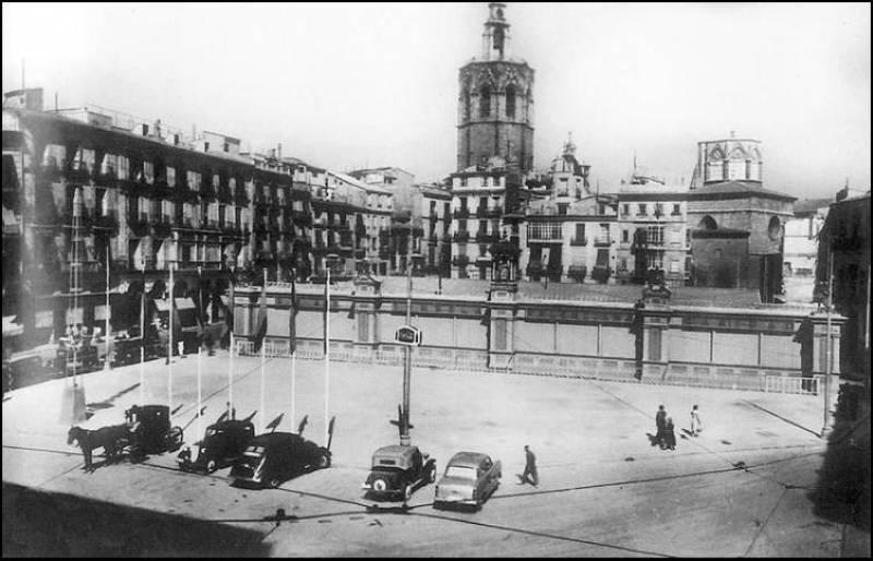1878, el año en el que nació la Plaza de la Reina