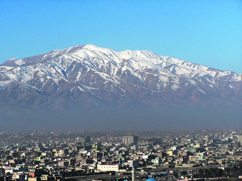 Vistas de las montañas desde Kabul. / epda