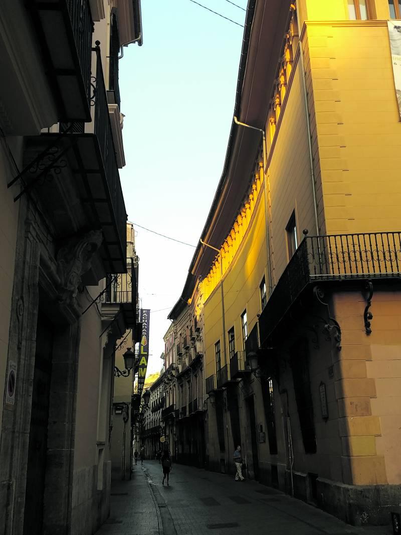 Calle Caballeros de València. SERGIO DELGADO