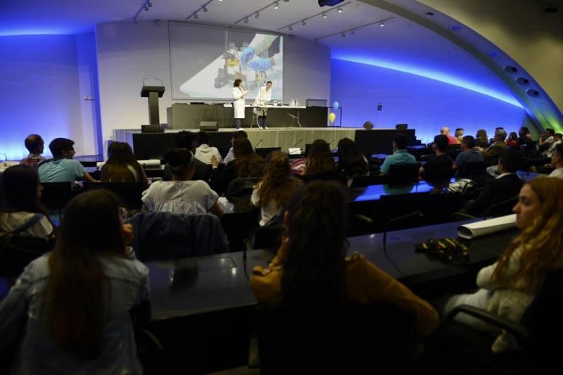 Auditorio, Ciencia a Escena