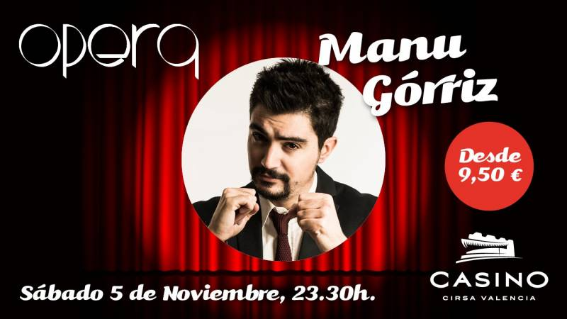 Manu Górriz en Casino Cirsa