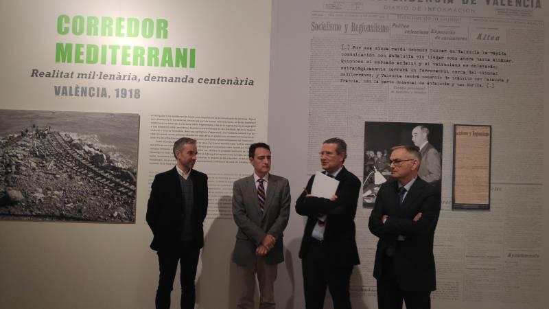 Exposición libro Corredor Mediterráneo