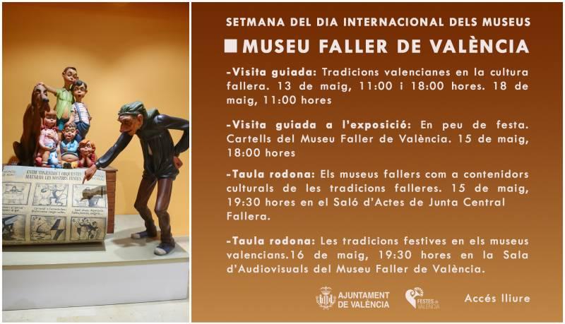 Dia Internacional del Museus. Banner Museu Faller