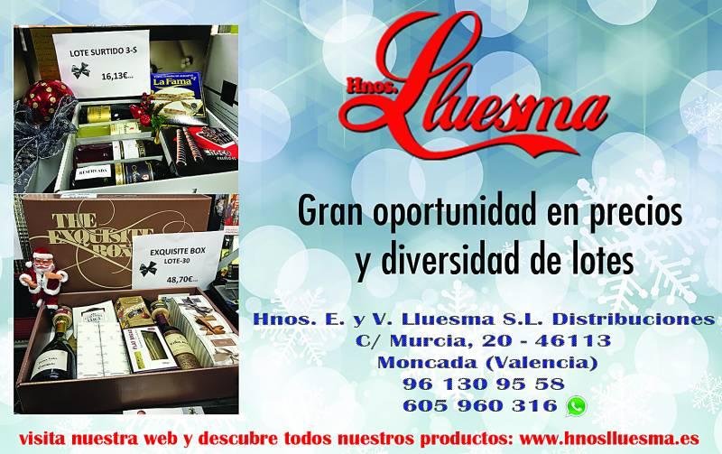 Hermanos Lluesma, empresa encargada de la confección de la cesta de Navidad. //VIUVALENCIA
