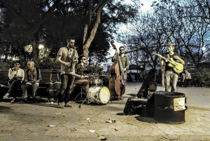 Jazz Ciutat Jardí Bertrand Kientz Quintet