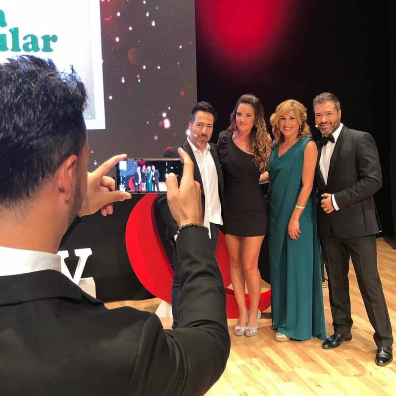 Presentadores Premiso Aquí TV./ EPDA
