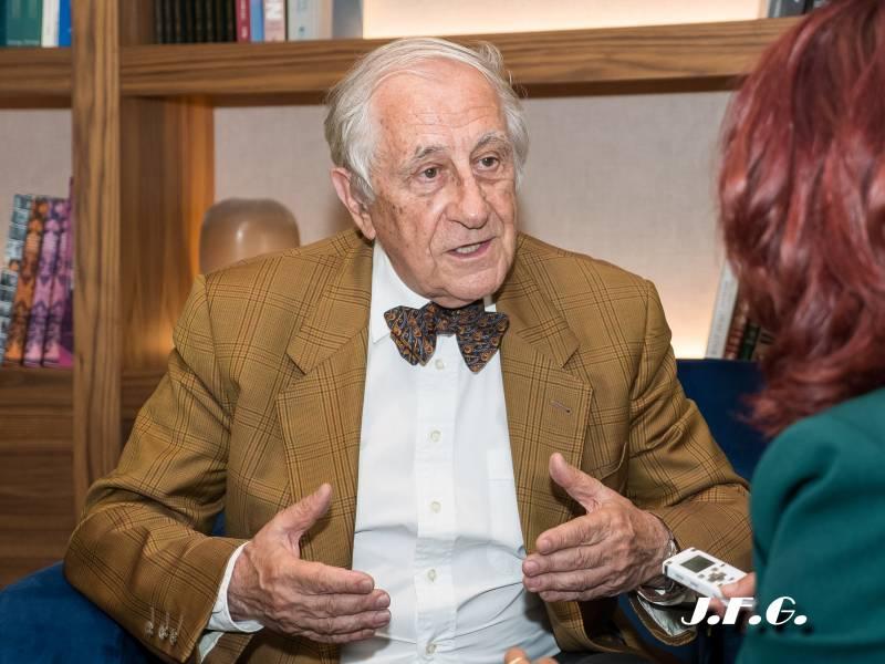 Inocencio Arias, diplomático español, exsecretario de estado y ex embajador de España ante la ONU