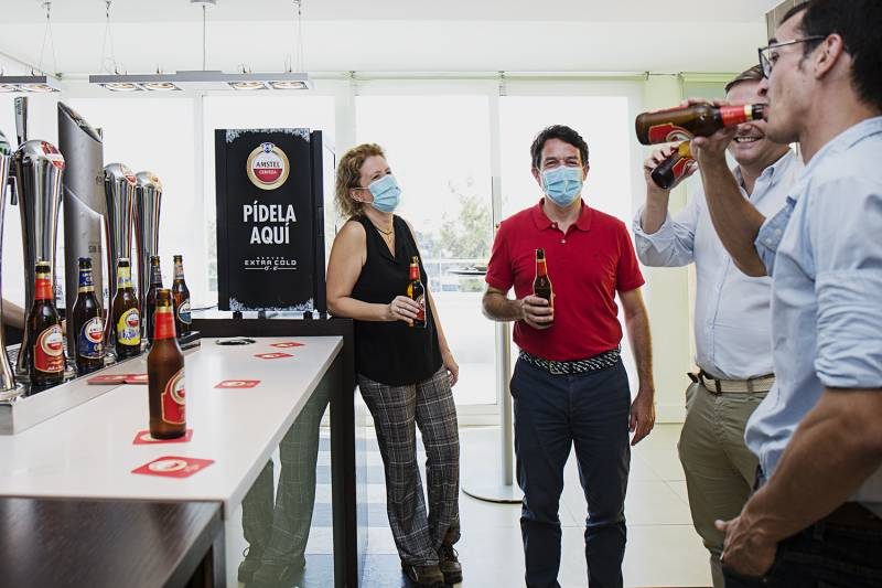 Amstel colabora con World Paella Day./ EPDA