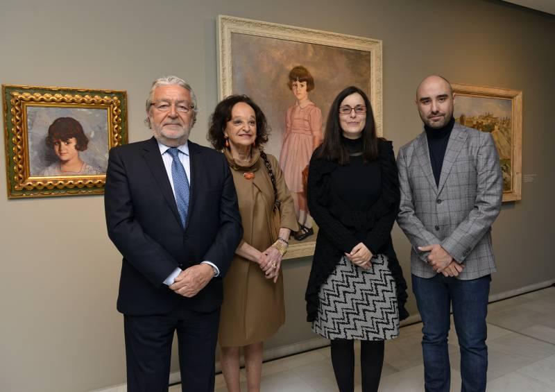 Rafael Alcón, María Rosa Suárez Zuloaga, Sofía Barrón y Carlos Alonso