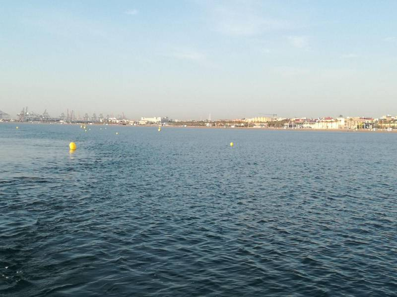 Canal natació Malva-rosa