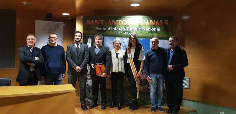 Presentación de las fiestas de Canals como Fiestas de Interés Turístico Nacional