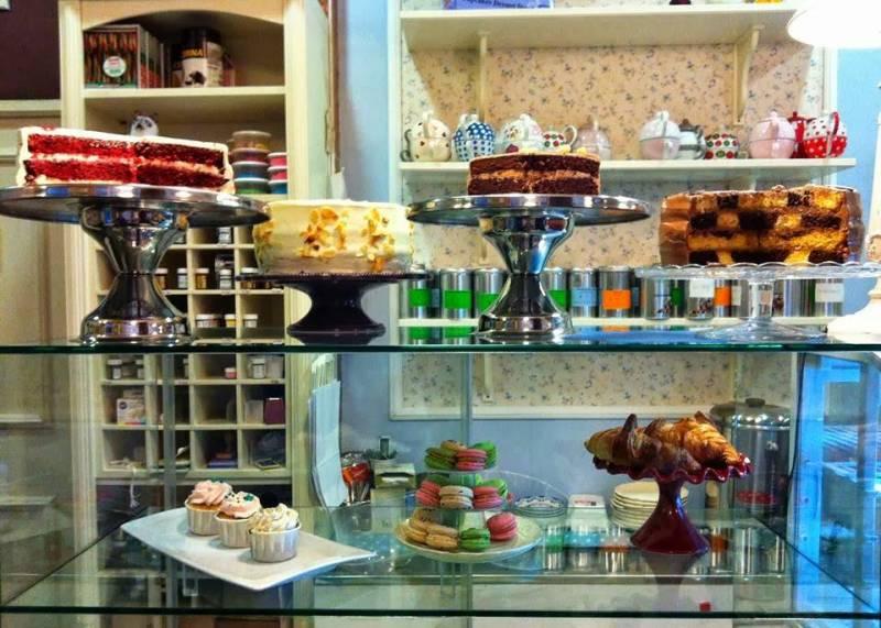 Las famosas tartas de Antique Café