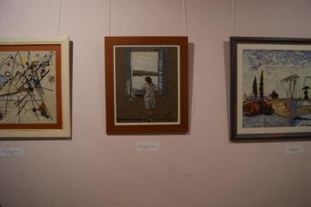 Algunas de las creaciones de María Josefa Donoso. FOTO: EPDA