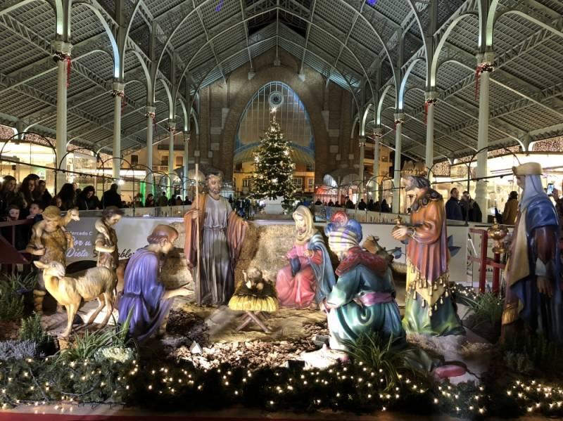 Mercat Colón enciende la Navidad