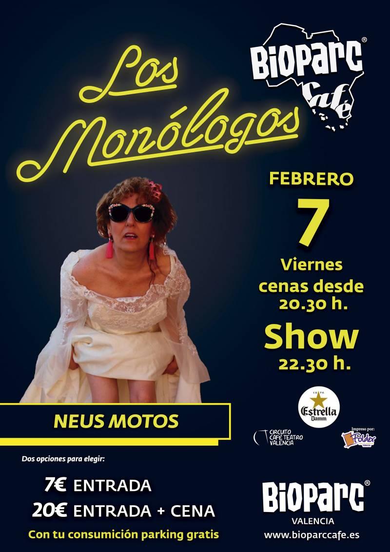 BIOPARC CAFÉ - Monólogo 7 febrero 2020
