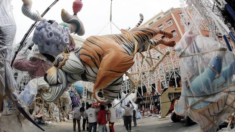 Fallas de Valencia, en una imagen de archivo. EPDA