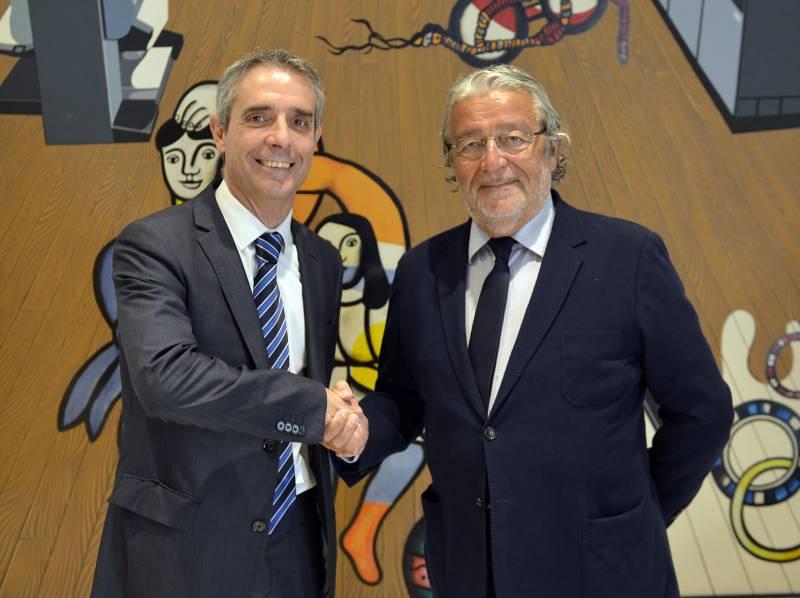 Bibiano Martínez y Rafael Alcón