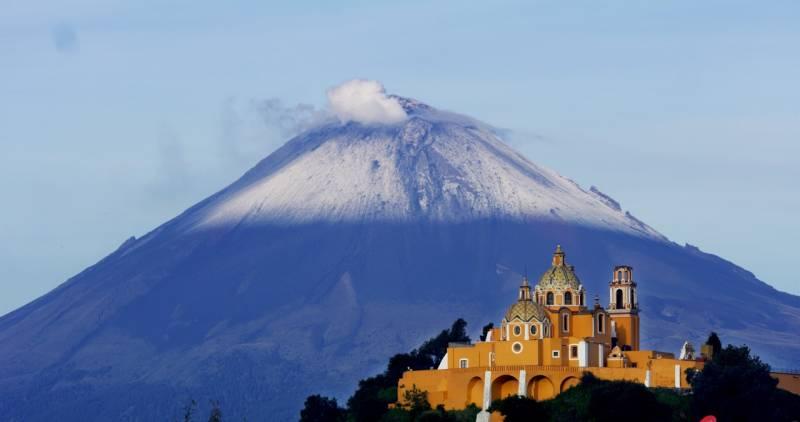 Película  Volcanes, Hemisfèric, México