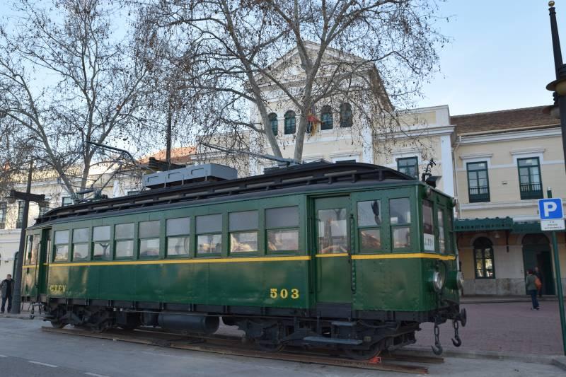 Exposición, trenet