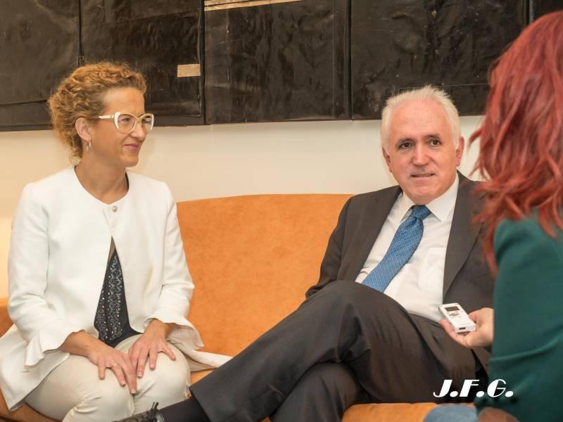 Irma Jiménez y José María Guibert