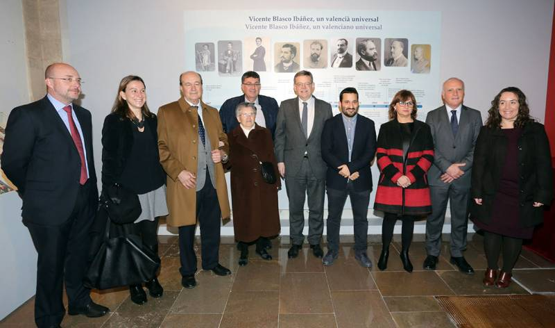 Exposición Blasco Ibáñez