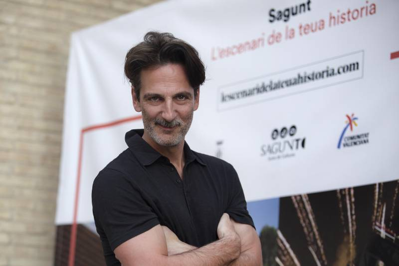 El actor Ernesto Alterio en Sagunto