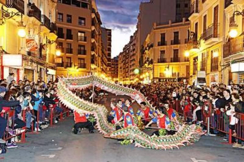 Cabalgata del Año Nuevo chino ; ; Ayuntamiento de Valencia