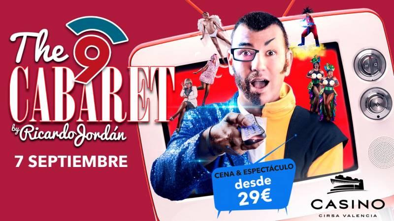Nou Cabaret 7 septiembre Casino Cirsa Valencia
