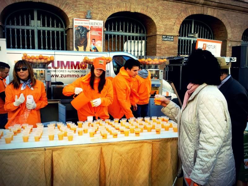 Horchata y Naranjada
