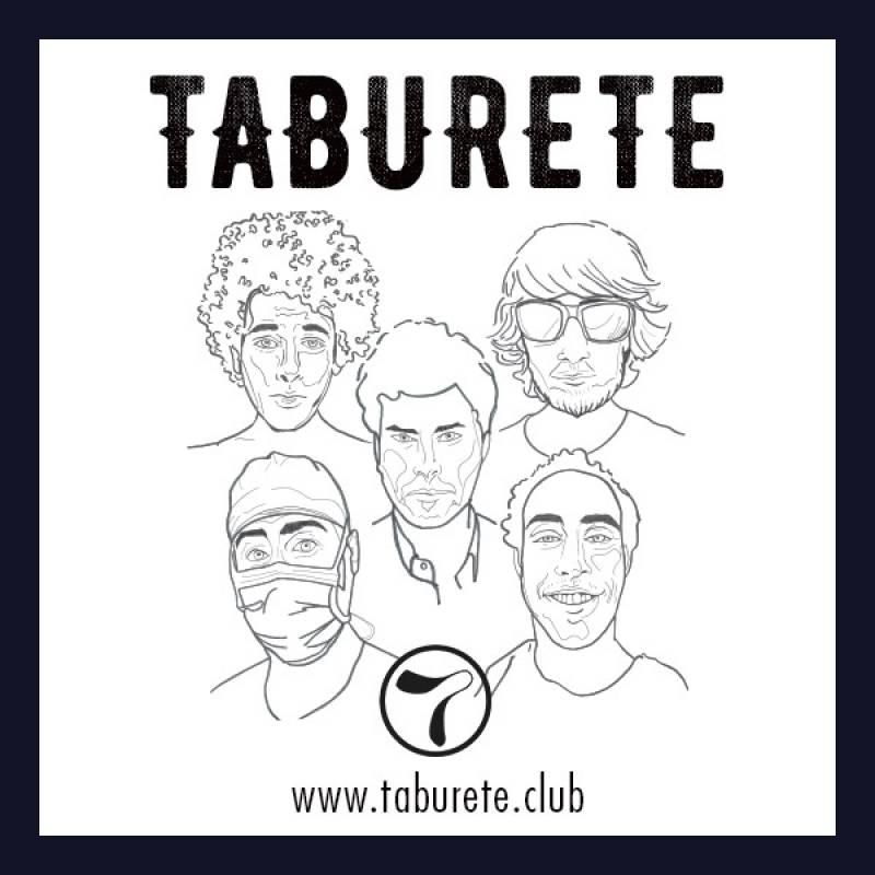 Portada del nuevo disco de Taburete