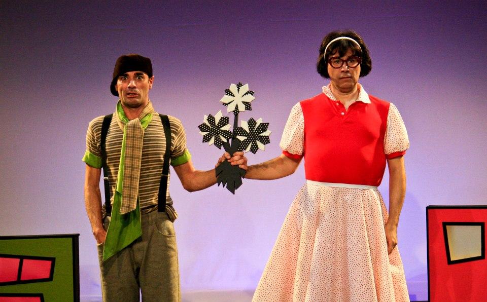 Escena de una obra en el Centre Teatral Escalante (Foto: Viu València)
