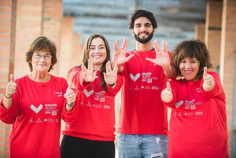 Voluntarios Maratón