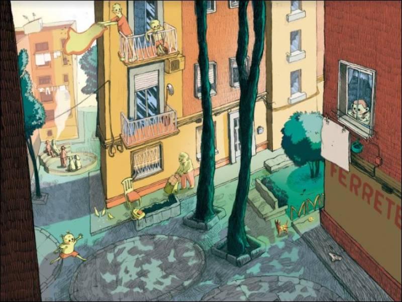 Barrio de la luz, de Marta Torres. EPDA.