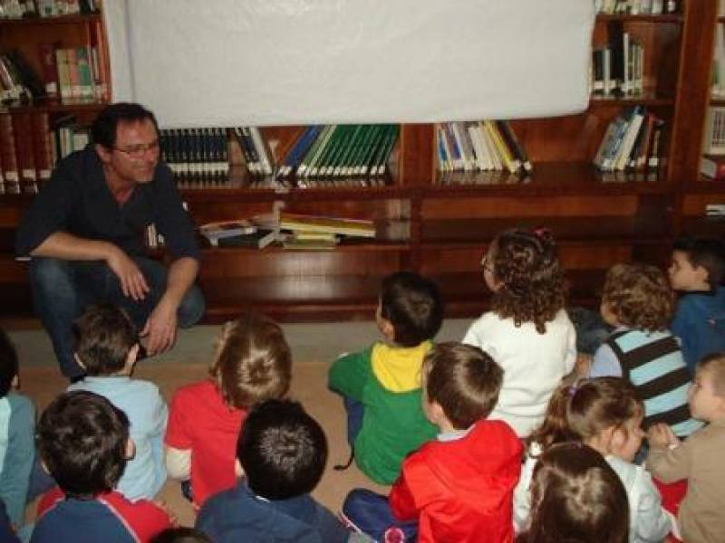 Club de lectura infantil. EPDA