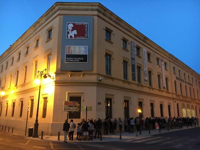 Nit dels Museus, Museu de Prehistòria