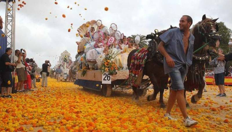 El origen de la Batalla de Flores de Valencia