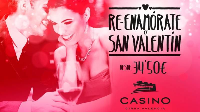 San Valentín en Casino Cirsa Valencia