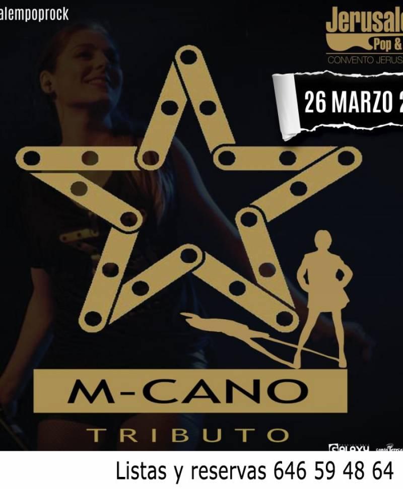 Cartel del concierto tributo a Mecano