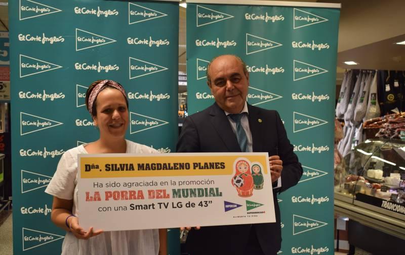 Silvia Magdaleno, ganadora de La porra del Mundial