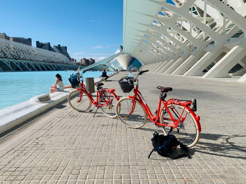 Bicicletas en València. EPDA