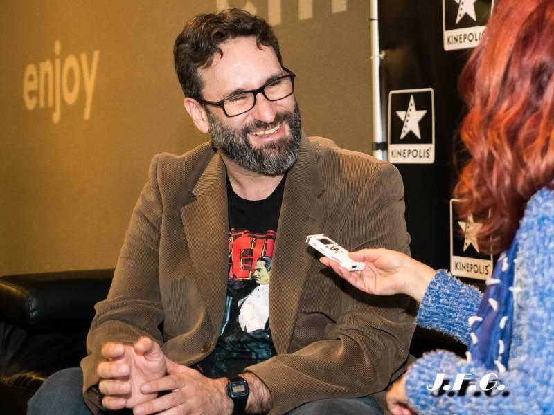 El Director de cine Carlos Therón